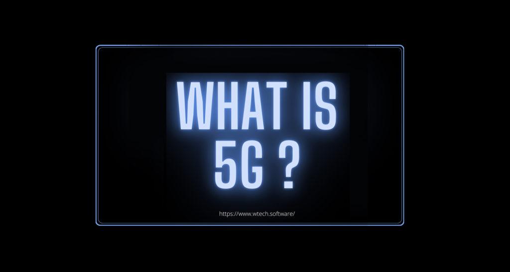 The future trend – 5G